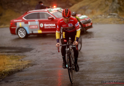 De achtste etappe in de Vuelta is een rit voor de klassementsrenners: zware bergetappe met slotklim van eerste categorie