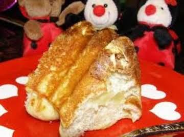 Apple Crisp Oven Pancake