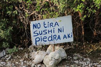 Photo: Lamentablemente en toda la semana no tiraron sushi :-(