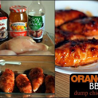Orange BBQ Dump Chicken.