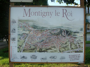 Photo: aankomst in Montigny le Roi