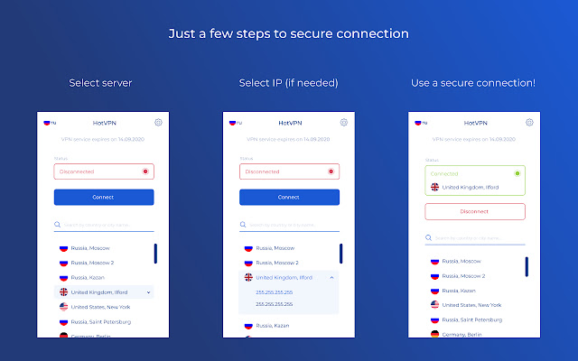 HotVPN - Private anonymity VPN and Proxy