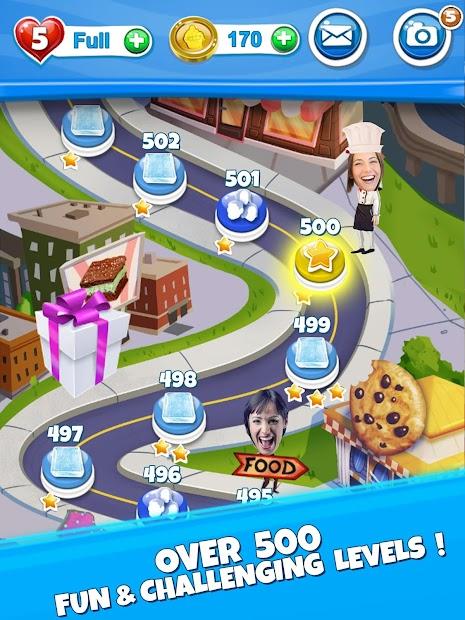Crazy Kitchen: Match 3 Puzzles screenshot 9
