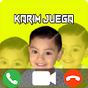 Fake Call de Karim Juega - Prank Chat & Video Call icon