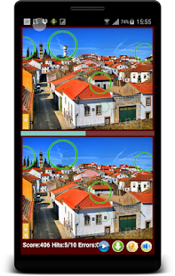 Find Differences City Skylines Train your Brain - náhled