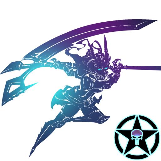 Shadow of Death: Stickman Fighting - Dark Knight Icon