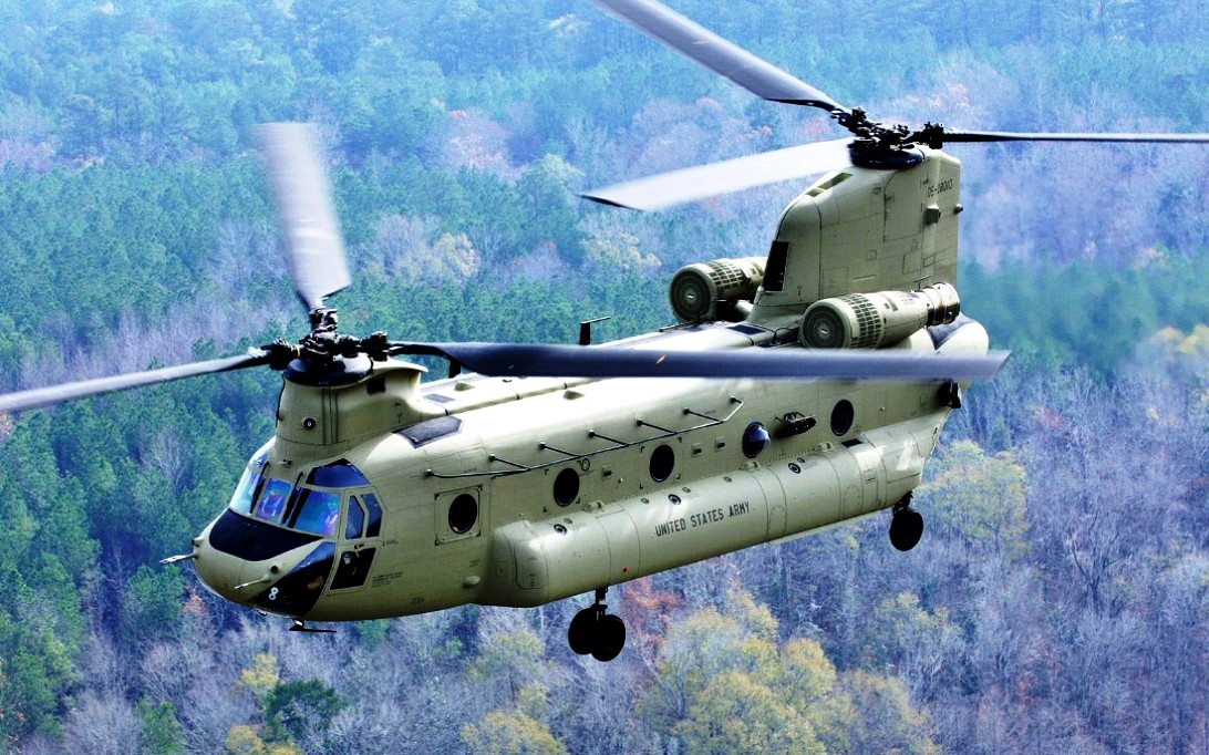 CH-47 Chinook Helicopter Wallpaper 1