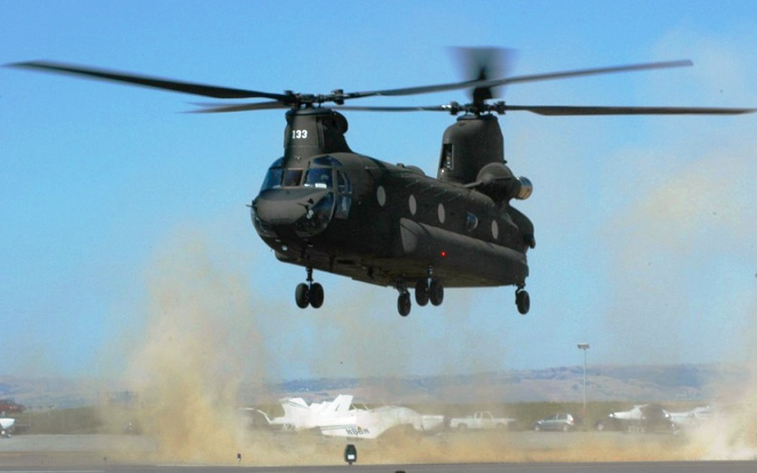 CH-47 Chinook Helicopter Wallpaper 3