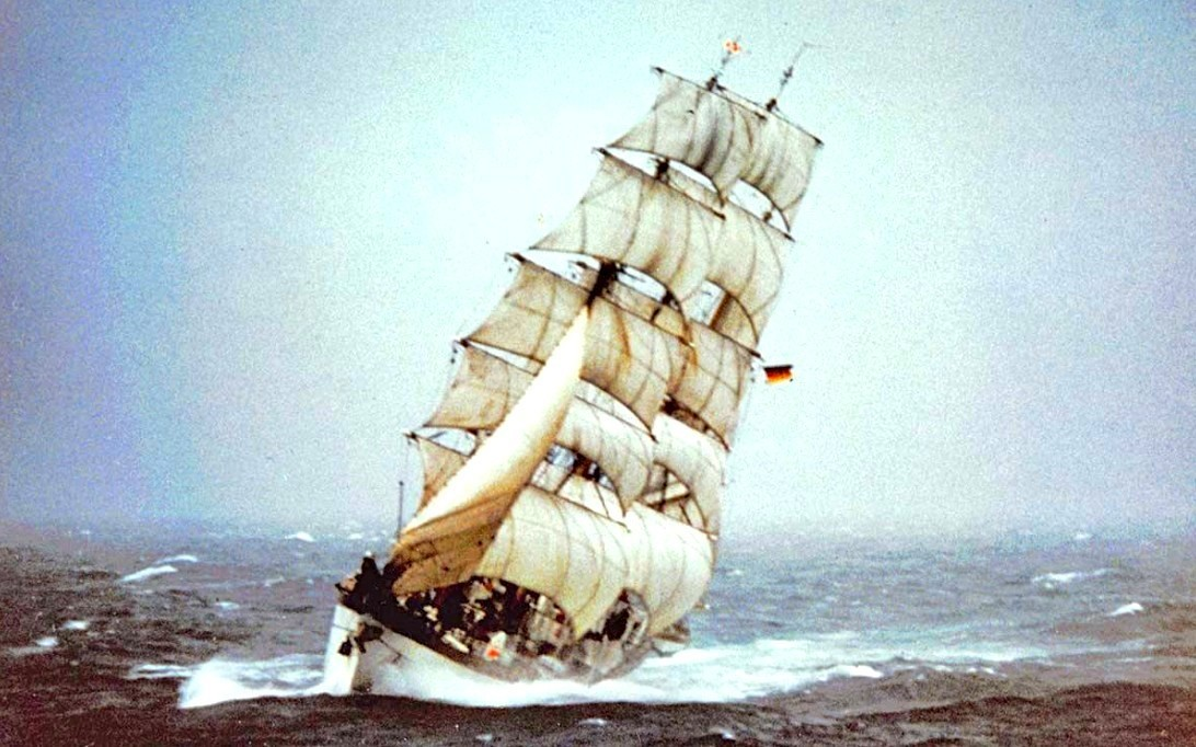 Gorch Fock Sailing Ship Wallpaper 3