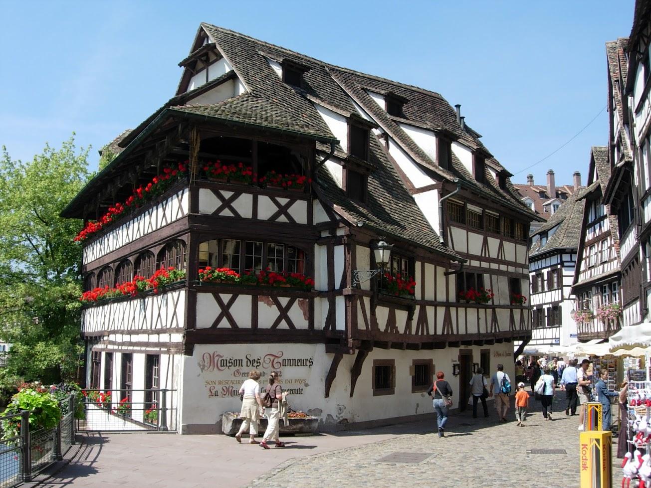 Maison des Tanneurs à Strasbourg