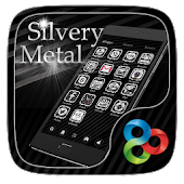 Silvery MetalGo Launcher Theme