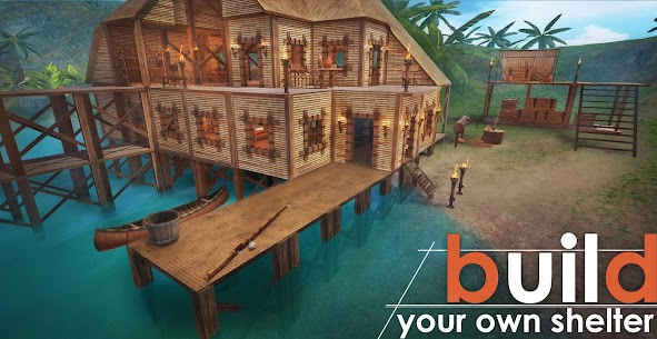 Survival Island: EVO – Survivor building home 1