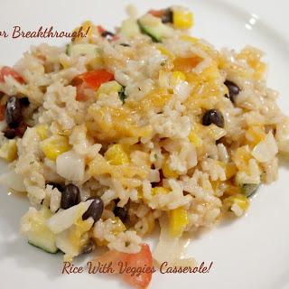 Rice with Veggies Casserole!