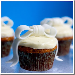 Gingered Bow Cupcakes Recipe