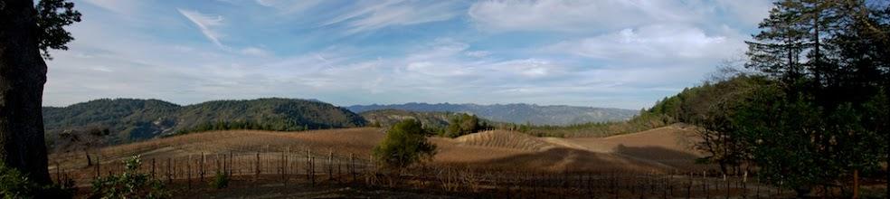 Photo: Pride Mountains V Panorama DSC_4355
