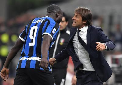 """Antonio Conte sous le charme de Lukaku : """"J'ai toujours voulu l'entraîner"""""""