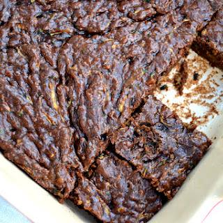 Paleo Zucchini Brownies.