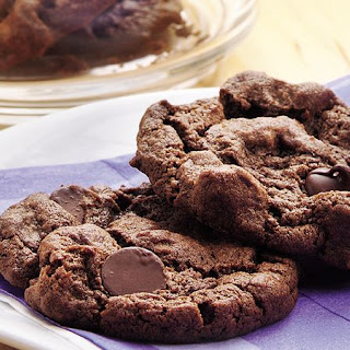Double-Chocolate Chip Cookies.