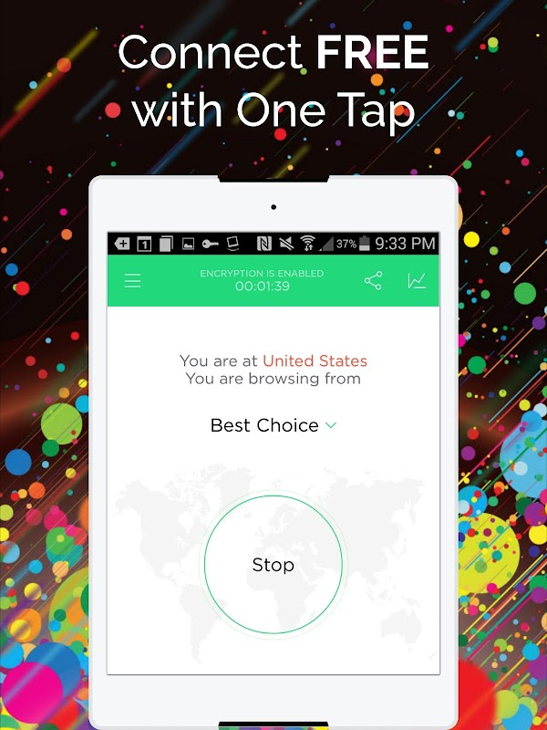 Touch VPN -Free Unlimited VPN Proxy & WiFi Privacy screenshots