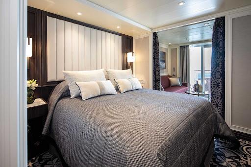 A Deluxe Veranda Suite on Seven Seas Splendor.