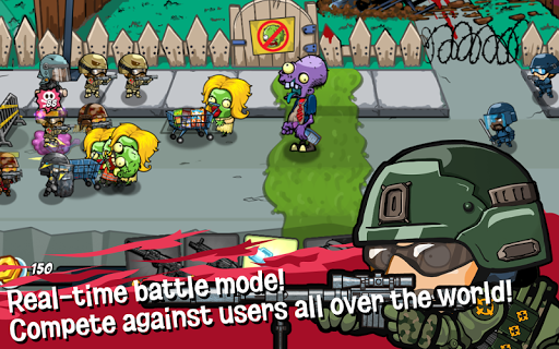 SWAT and Zombies - Defense & Battle 2.2.2 Screenshots 5