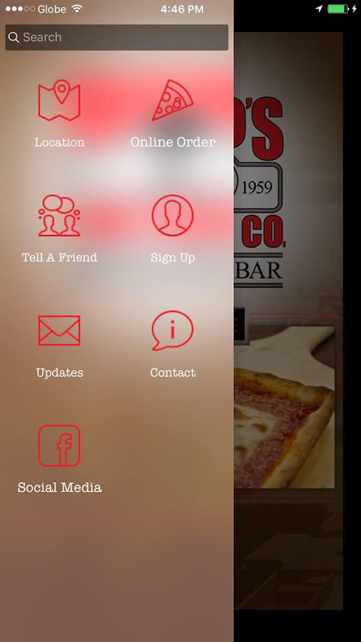 Rizzo's Fine Pizza Co. NYC- screenshot