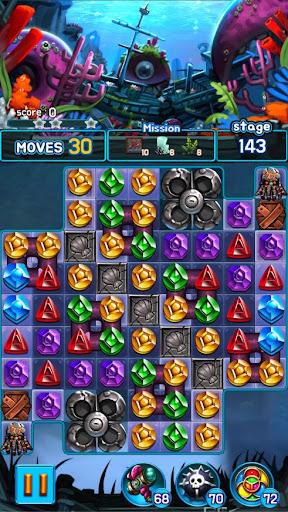 Jewel Kraken: Match 3 Jewel Blast 1.7.0 screenshots 3