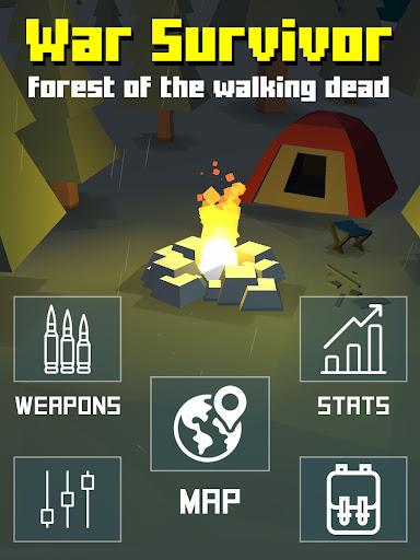 Zombie War Survivor : Forest of the Walking Dead screenshot 9