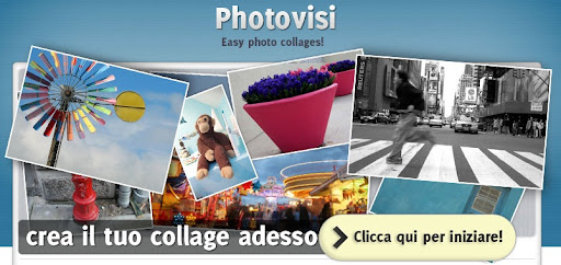 Creare un collage con le foto grazie a Photovisi