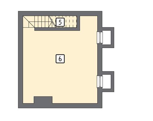G22a - Rzut piwnicy