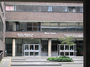 Photo: Mertz Court, where I had maths lectures