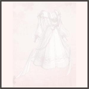 シフォンのドレス