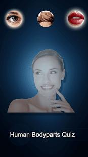 Human Bodyparts Quiz - náhled