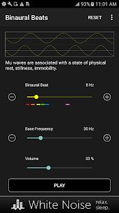 Binaural Beats Generator - náhled