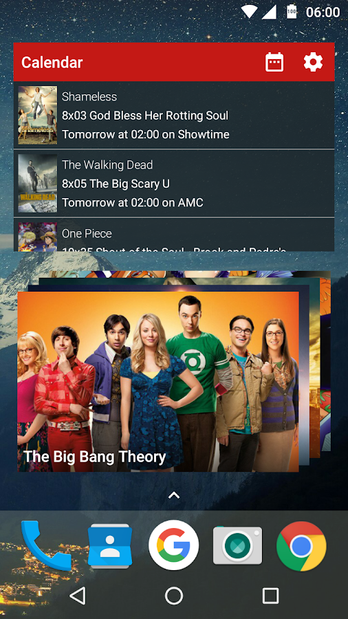 Series Mate - Trakt.tv client- screenshot