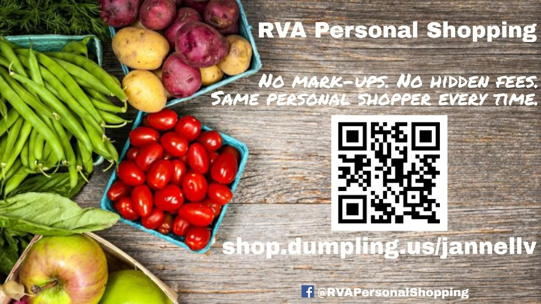 RVA Personal Shopping - Grocery and Restaurant Delivery Service
