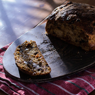 Barmbrack with Plums