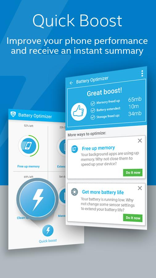 Battery Optimizer & Cleaner- screenshot