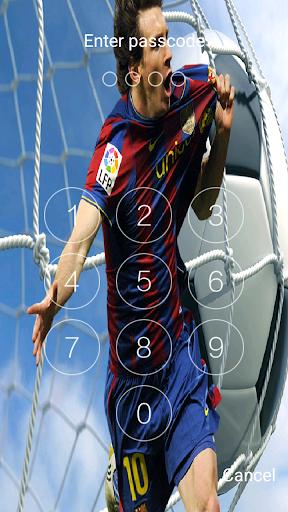 New Lock screen for Leo Messi 2018 2.0.0 screenshots 2
