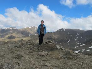 Photo: La Pili al cim del Pic de Fontnegre (2.727 m)