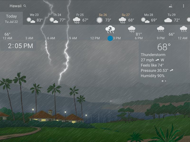 YoWindow Weather Screenshot 11