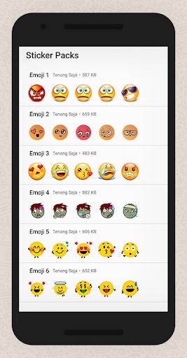 WAStickerApps Hug Emoji App Report on Mobile Action - App