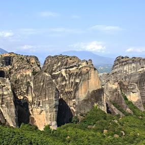 Meteora , Greece by Baggelis Karaliolios Zerofive - Landscapes Mountains & Hills