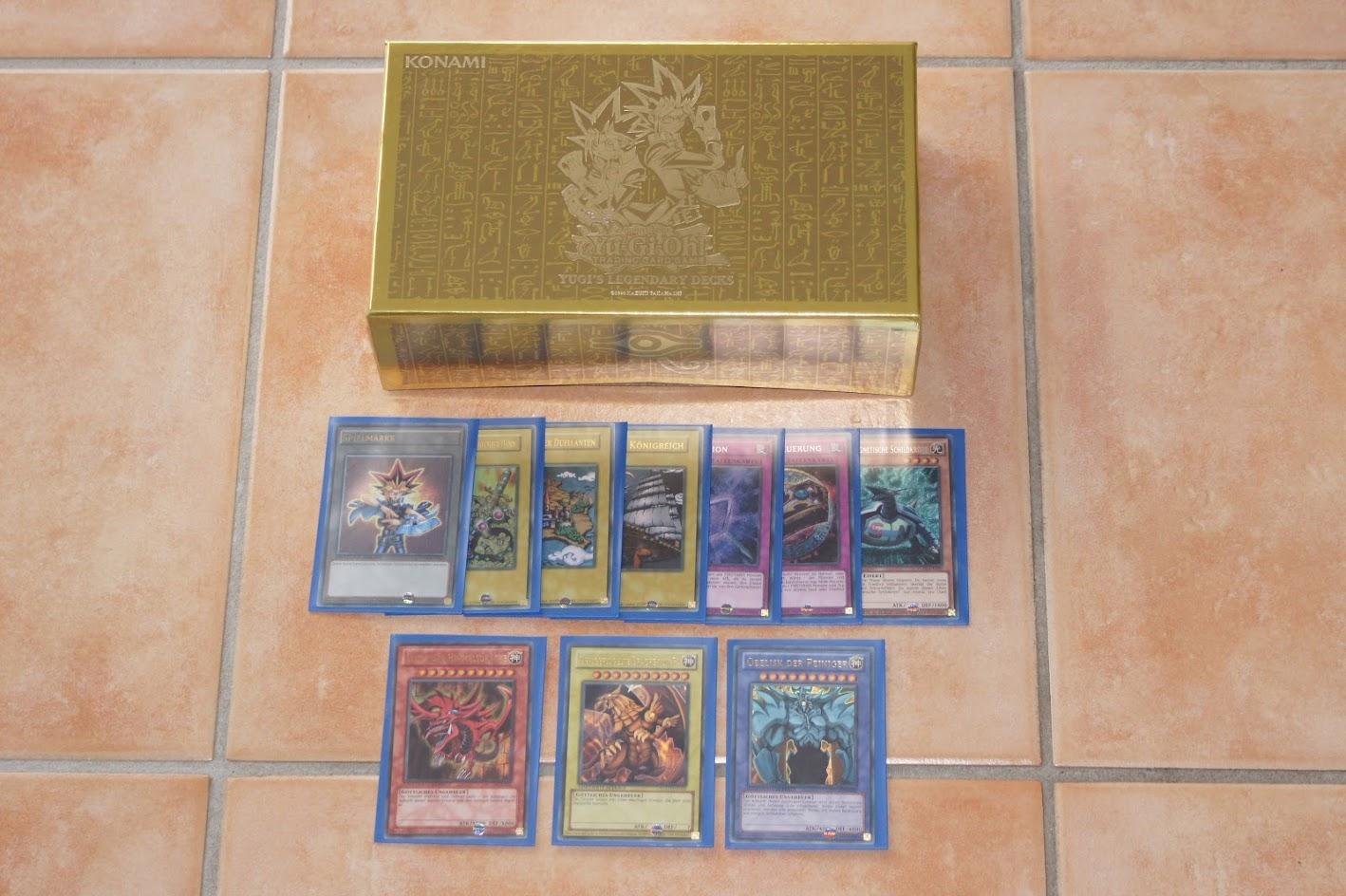 Yu-Gi-Oh! Yugis Legendary Deck Götterkarten