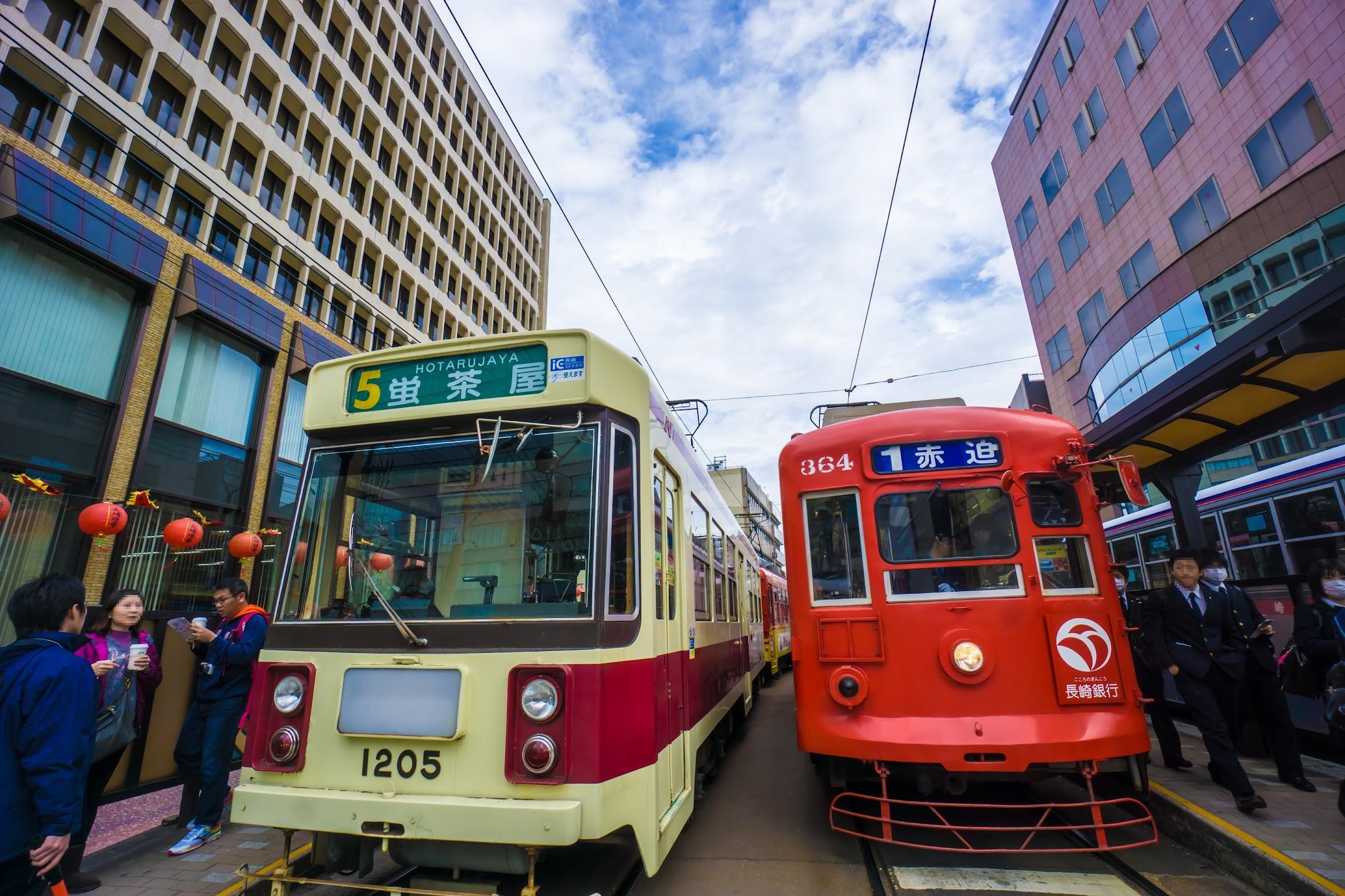 長崎 路面電車2