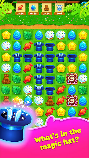 Easter Sweeper - Chocolate Bunny Match 3 Pop Games 2.1.1 screenshots 5