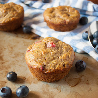 The Best Mixed Summer Berry Muffins