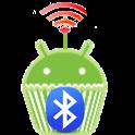 Bluetooth remote control icon