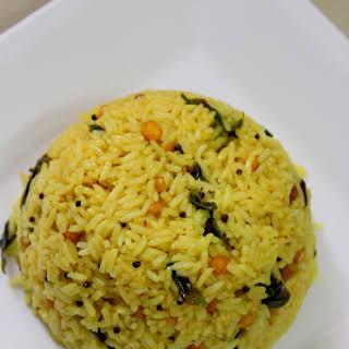 Pulihora Recipe Andhra, Tamarind Rice Recipe | Chintapandu Pulihora.