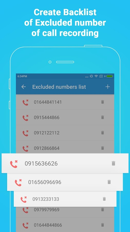 Call Recorder Hide, Automatic Call Recording 2Ways- screenshot